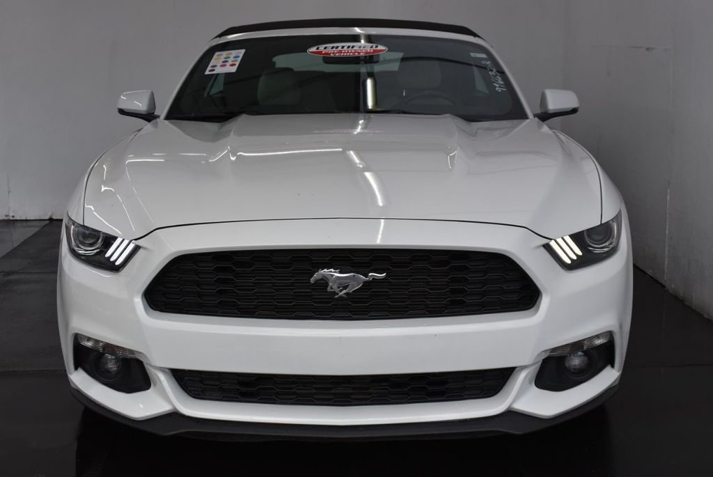 2017 Ford Mustang EcoBoost Premium Convertible - 18250874 - 2