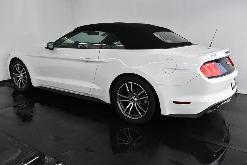 2017 Ford Mustang EcoBoost Premium Convertible - 18250874 - 4