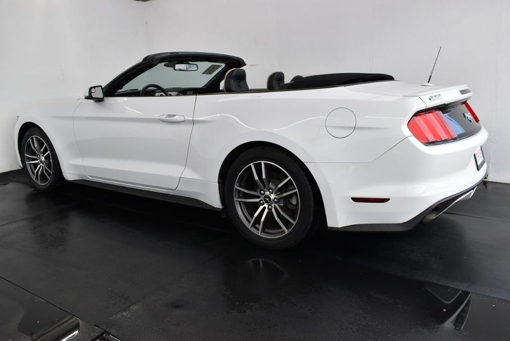 2017 Ford Mustang EcoBoost Premium Convertible - 18250874 - 5
