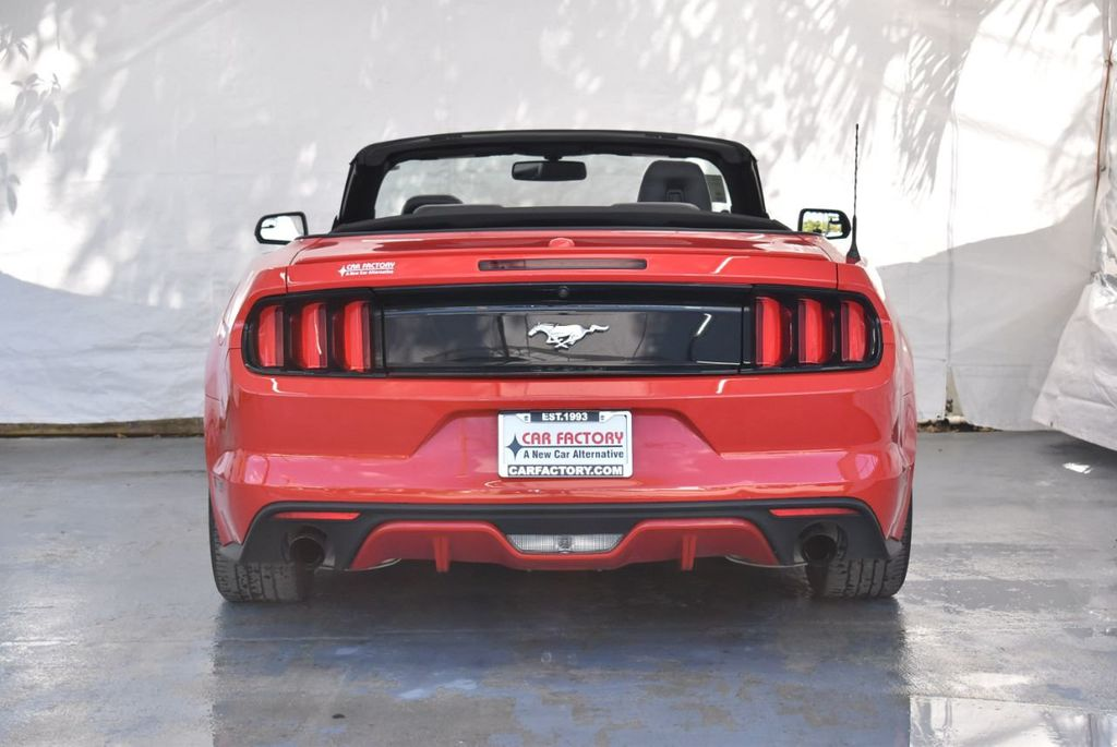 2017 Ford Mustang EcoBoost Premium Convertible - 18415854 - 7