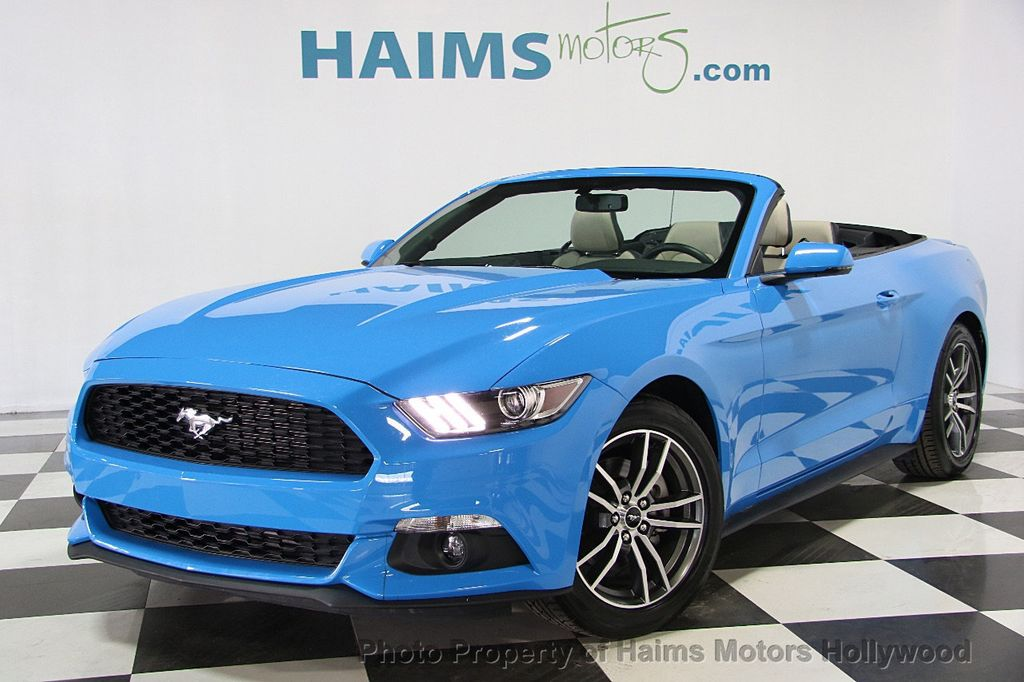 2017 Ford Mustang Ecoboost Premium Convertible 16392308