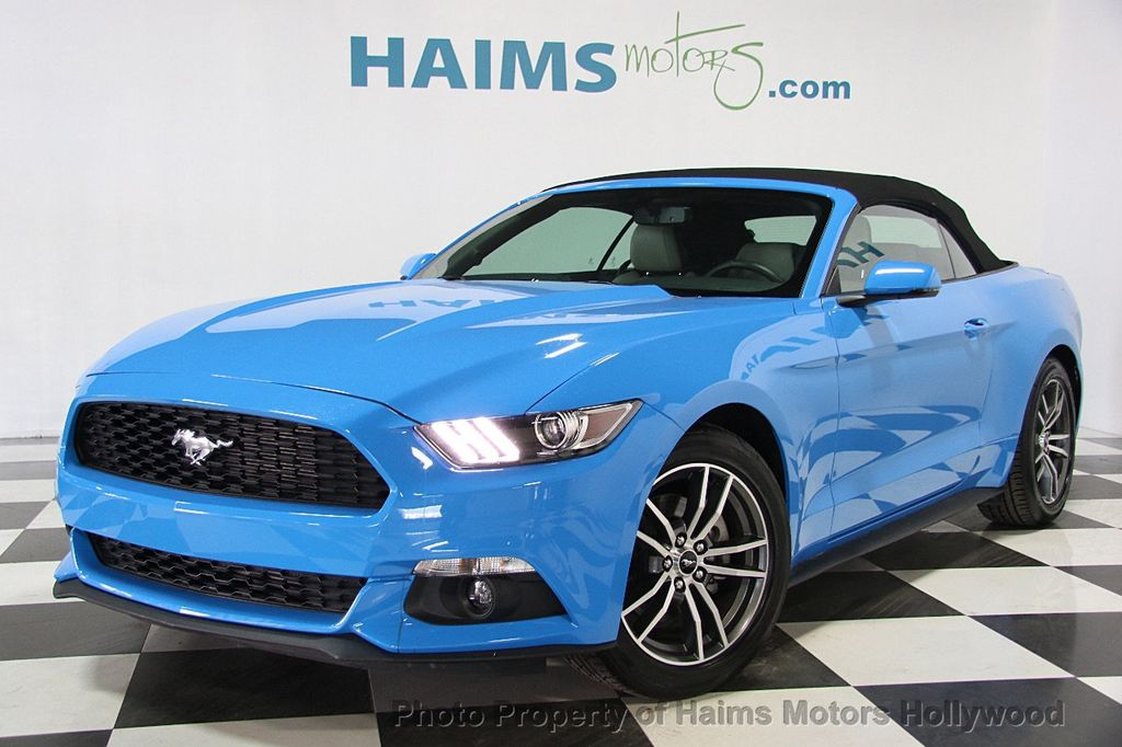 2017 Used Ford Mustang Ecoboost Premium Convertible At Haims Motors