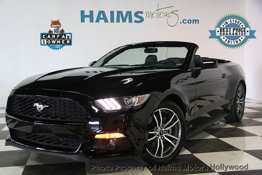 2017 Ford Mustang EcoBoost Premium Convertible - 17241626 - 0