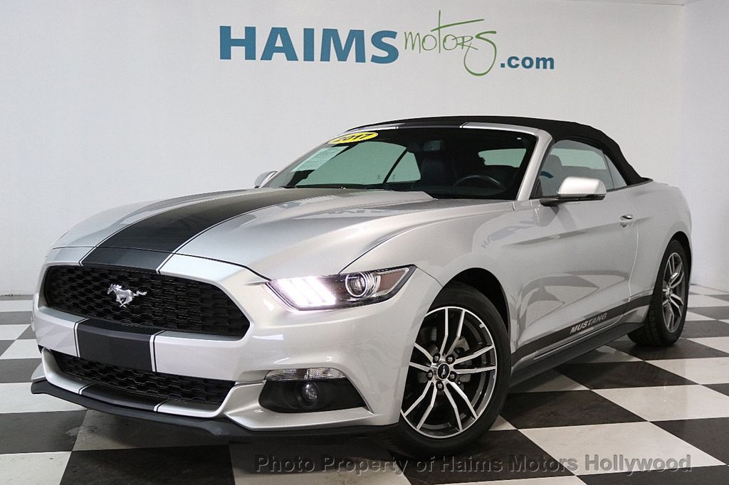 2017 Ford Mustang EcoBoost Premium Convertible - 17286578 - 1