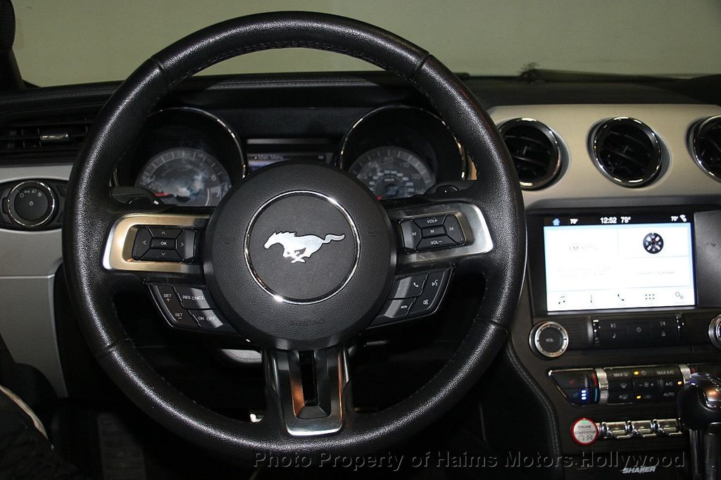 2017 Ford Mustang EcoBoost Premium Convertible - 17286578 - 23