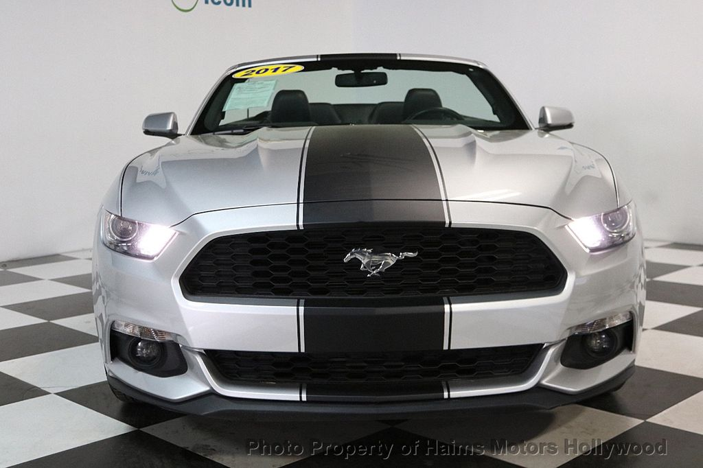 2017 Ford Mustang EcoBoost Premium Convertible - 17286578 - 3