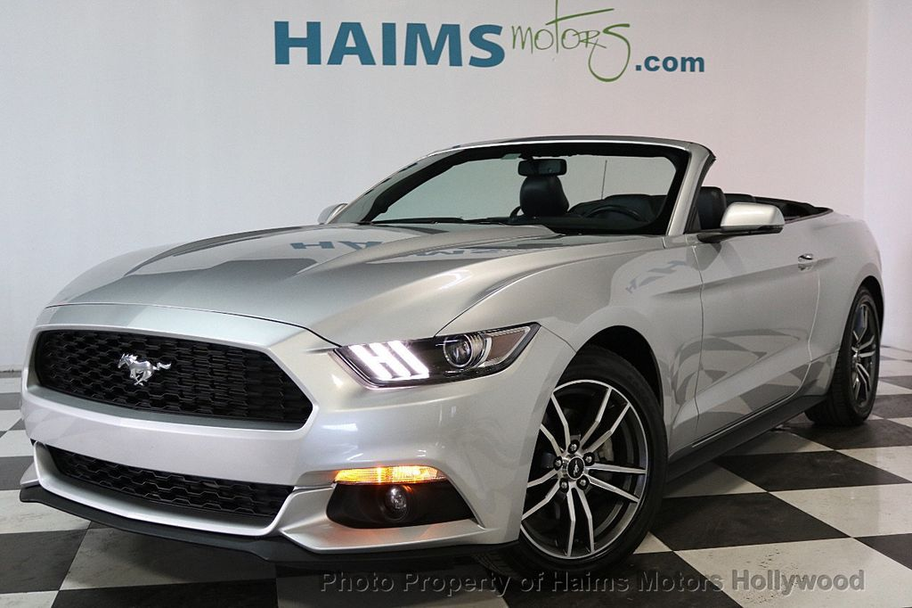 Best Of 2017 ford Mustang 4 Cylinder Turbo