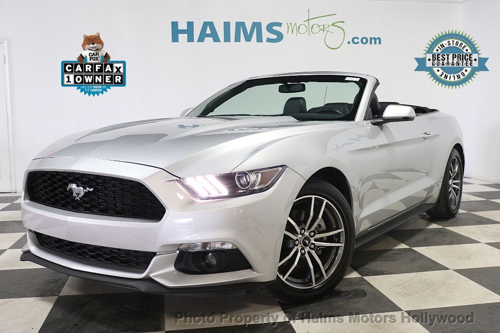 2017 Ford Mustang EcoBoost Premium Convertible - 17907531 - 0