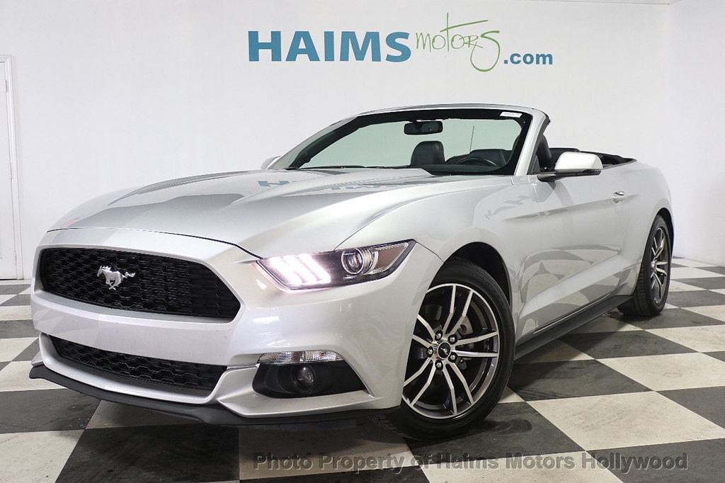 2017 Ford Mustang EcoBoost Premium Convertible - 17907531 - 1