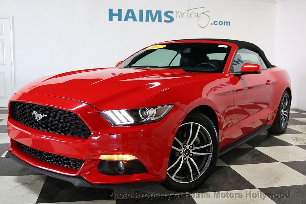2017 Ford Mustang EcoBoost Premium Convertible - 18188457 - 2