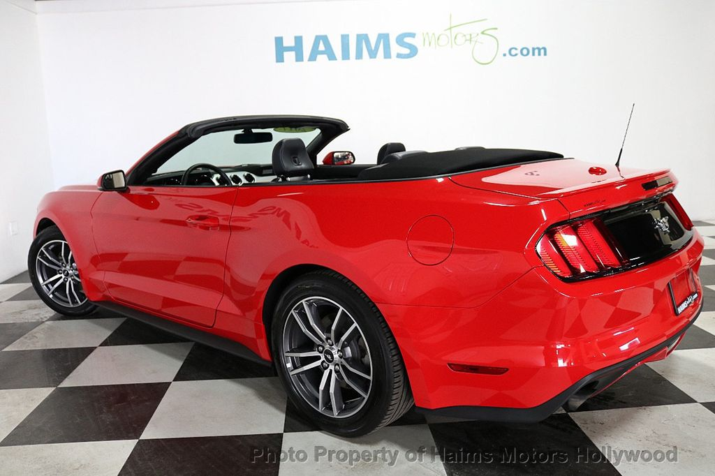 2017 Ford Mustang EcoBoost Premium Convertible - 18188457 - 5