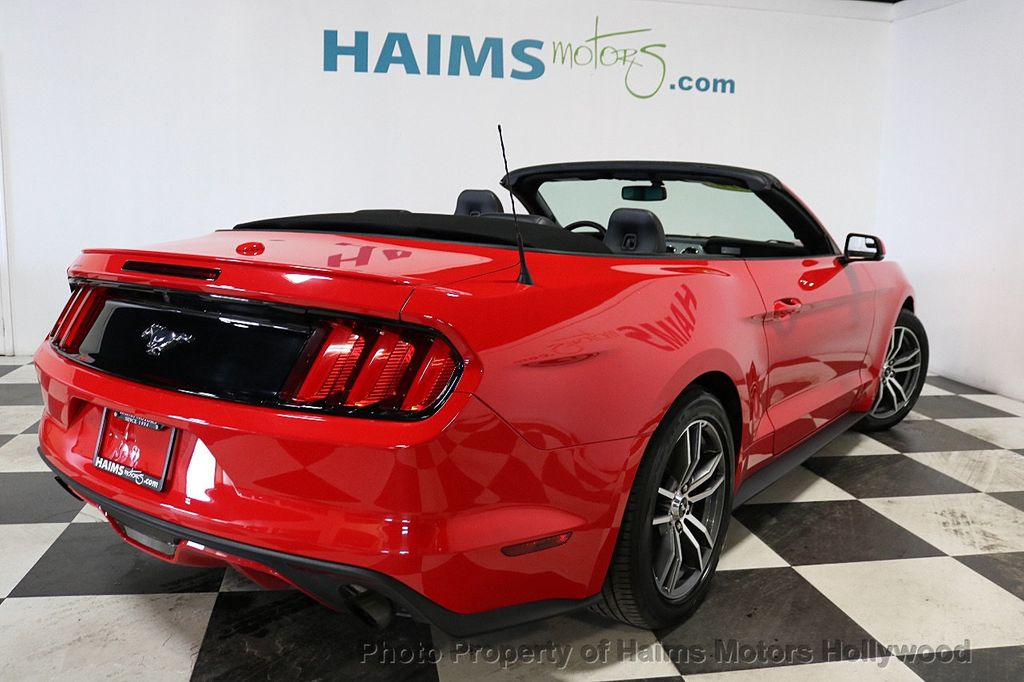 2017 Ford Mustang EcoBoost Premium Convertible - 18188457 - 7