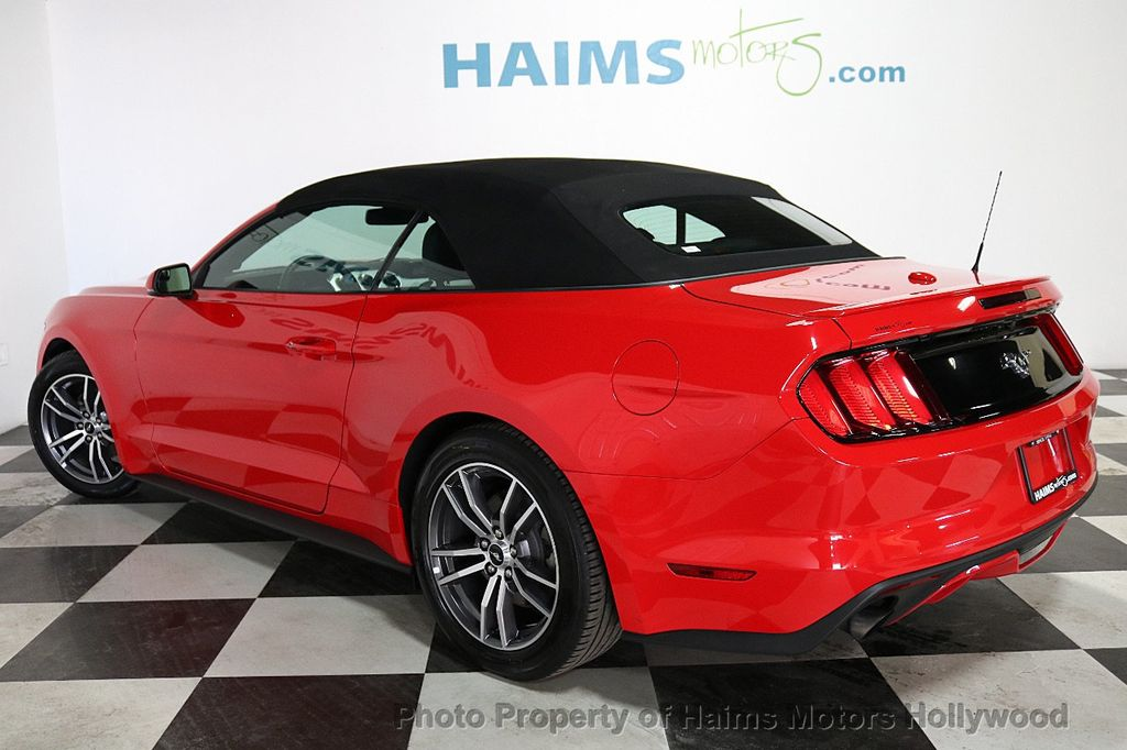 2017 Ford Mustang EcoBoost Premium Convertible - 18188457 - 8