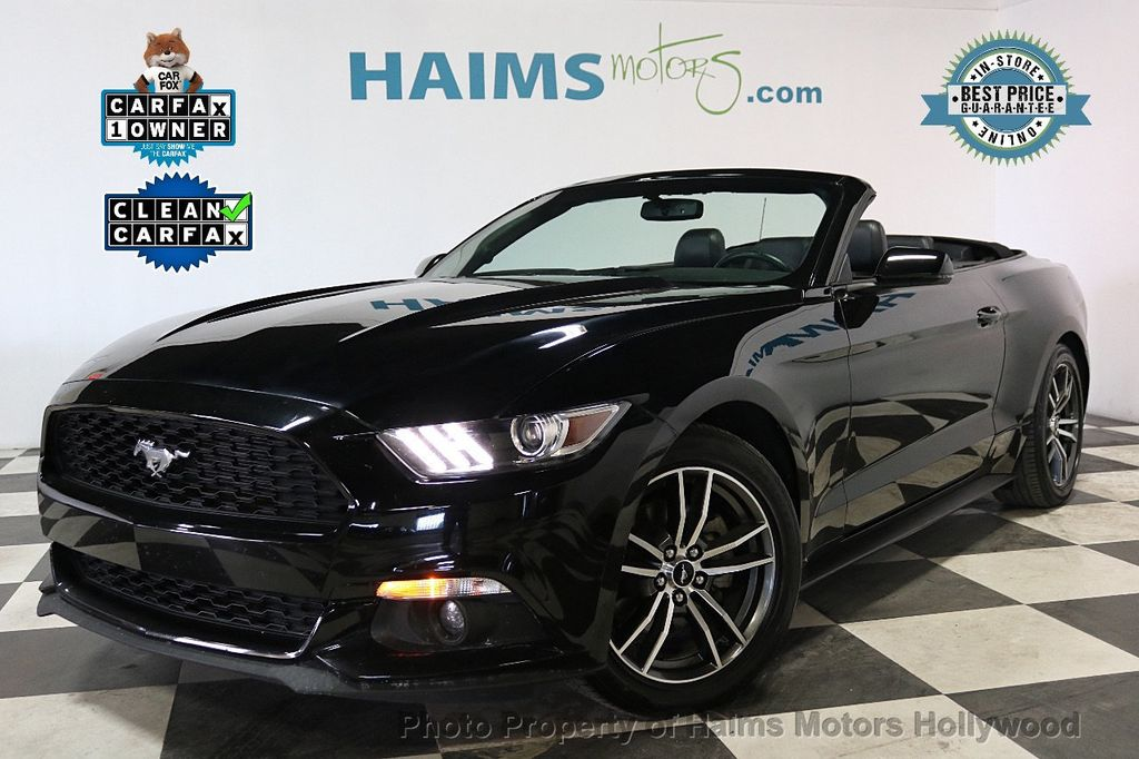 2017 Ford Mustang Ecoboost Premium Convertible 18253571