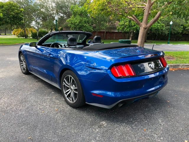 2017 used ford mustang ecoboost premium convertible at a luxury autos serving miramar fl iid. Black Bedroom Furniture Sets. Home Design Ideas