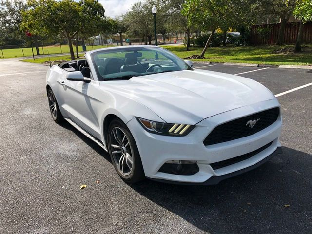 2017 Ford Mustang EcoBoost Premium Convertible - Click to see full-size photo viewer