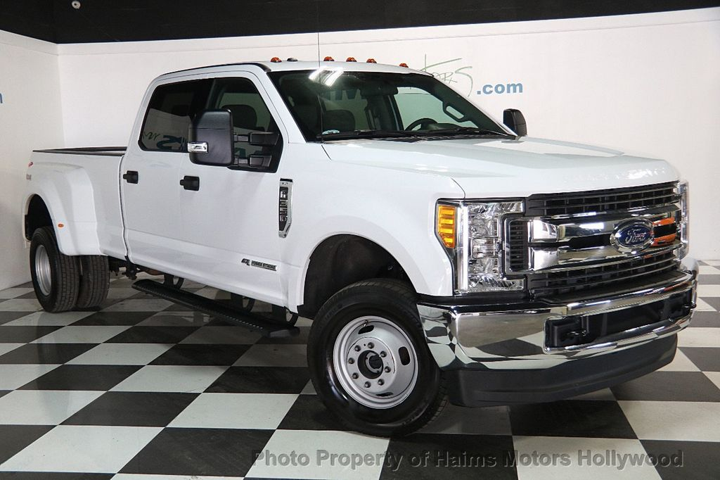 2017 used ford super duty f 350 drw xlt 4wd crew cab 8 39 box at haims motors ft lauderdale. Black Bedroom Furniture Sets. Home Design Ideas