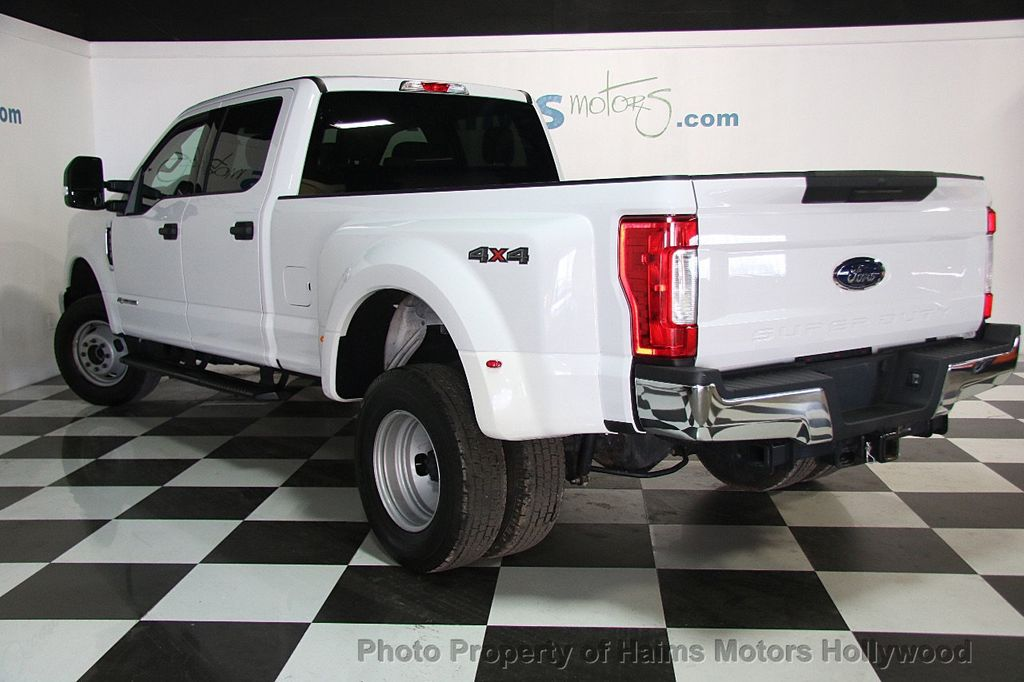 2017 used ford super duty f 350 drw xlt 4wd crew cab 8 39 box at haims motors hollywood serving. Black Bedroom Furniture Sets. Home Design Ideas