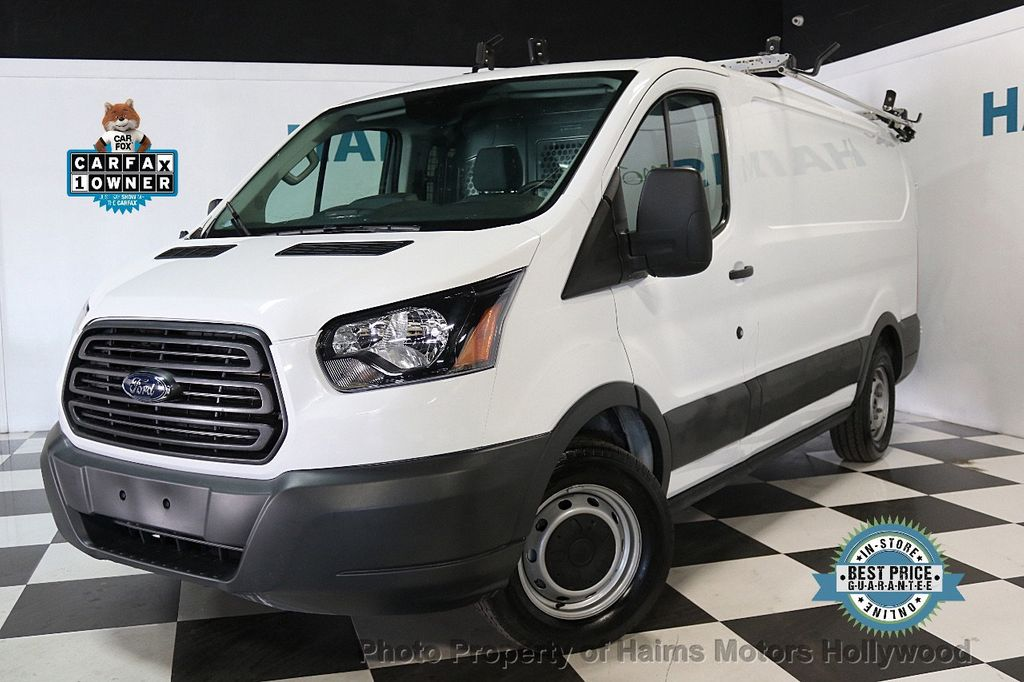 "2017 Ford Transit Van T-150 130"" Low Rf 8600 GVWR Sliding RH Dr - 17482525 - 0"