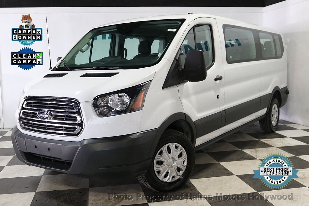 """2017 Ford Transit Wagon T-150 130"""" Low Roof XLT Swing-Out RH Dr - 18246112 - 0"""