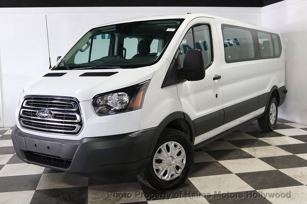 """2017 Ford Transit Wagon T-150 130"""" Low Roof XLT Swing-Out RH Dr - 18246112 - 1"""