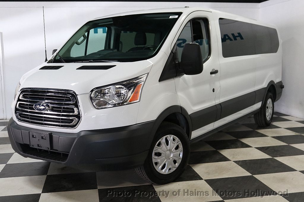 "2017 Ford Transit Wagon T-350 148"" Low Roof XLT Sliding RH Dr - 18093329 - 1"