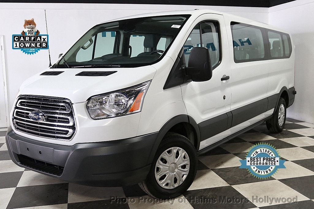 """2017 Ford Transit Wagon T-350 148"""" Low Roof XLT Swing-Out RH Dr - 18373360 - 0"""
