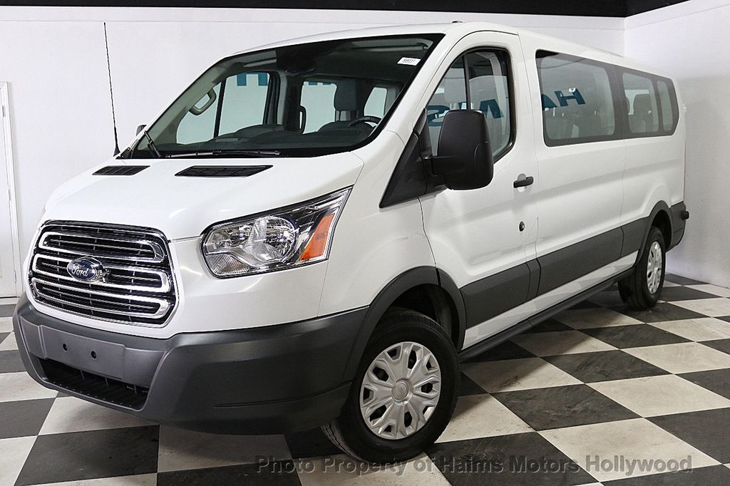 """2017 Ford Transit Wagon T-350 148"""" Low Roof XLT Swing-Out RH Dr - 18373360 - 1"""