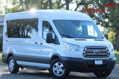 "2017 Ford Transit Wagon T-350 148"" Med Roof XLT Sliding RH Dr Van"