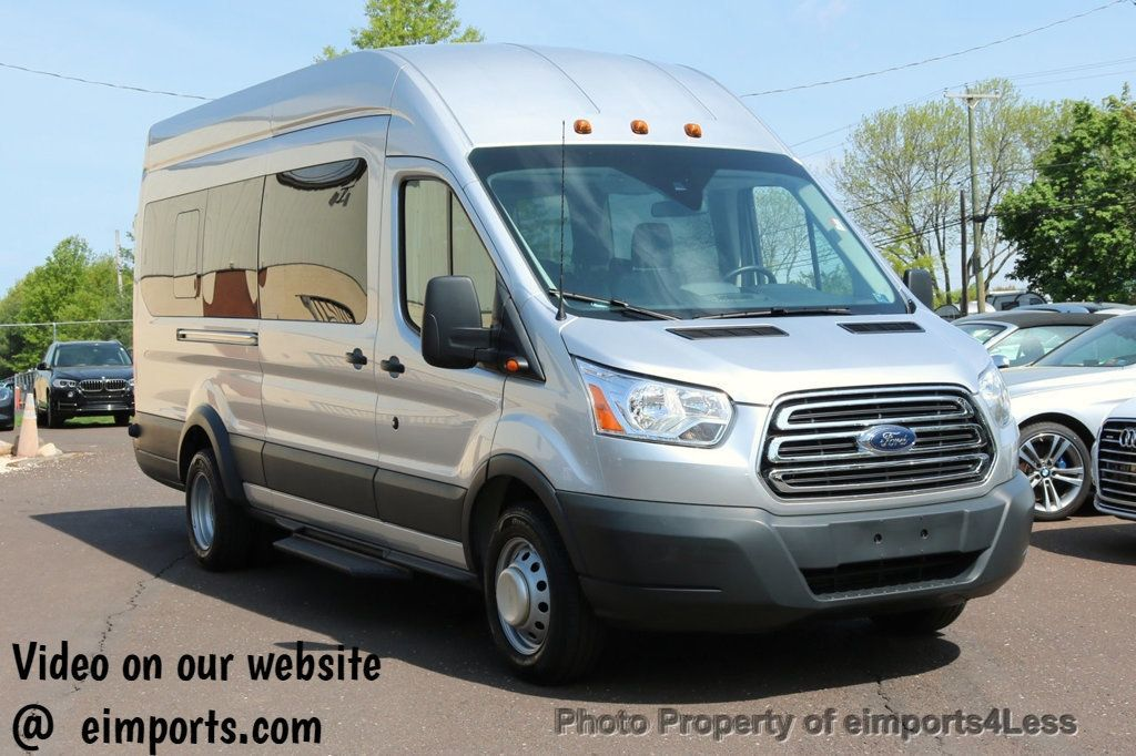 2017 Used Ford Transit Wagon Transit 350hd Dually High