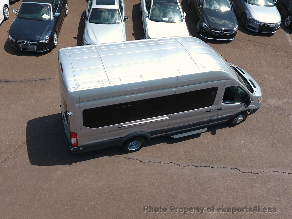 2017 Ford Transit Wagon TRANSIT 350HD DUALLY HIGH ROOF 15 PASSENGER  - 17655694 - 17