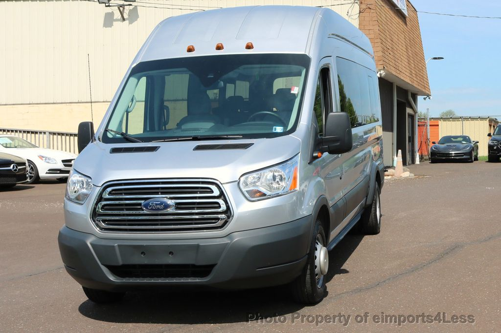 2017 Ford Transit Wagon TRANSIT 350HD DUALLY HIGH ROOF 15 PASSENGER  - 17655694 - 1