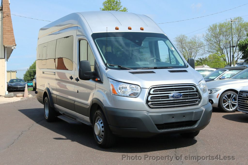 2017 Ford Transit Wagon TRANSIT 350HD DUALLY HIGH ROOF 15 PASSENGER  - 17655694 - 26