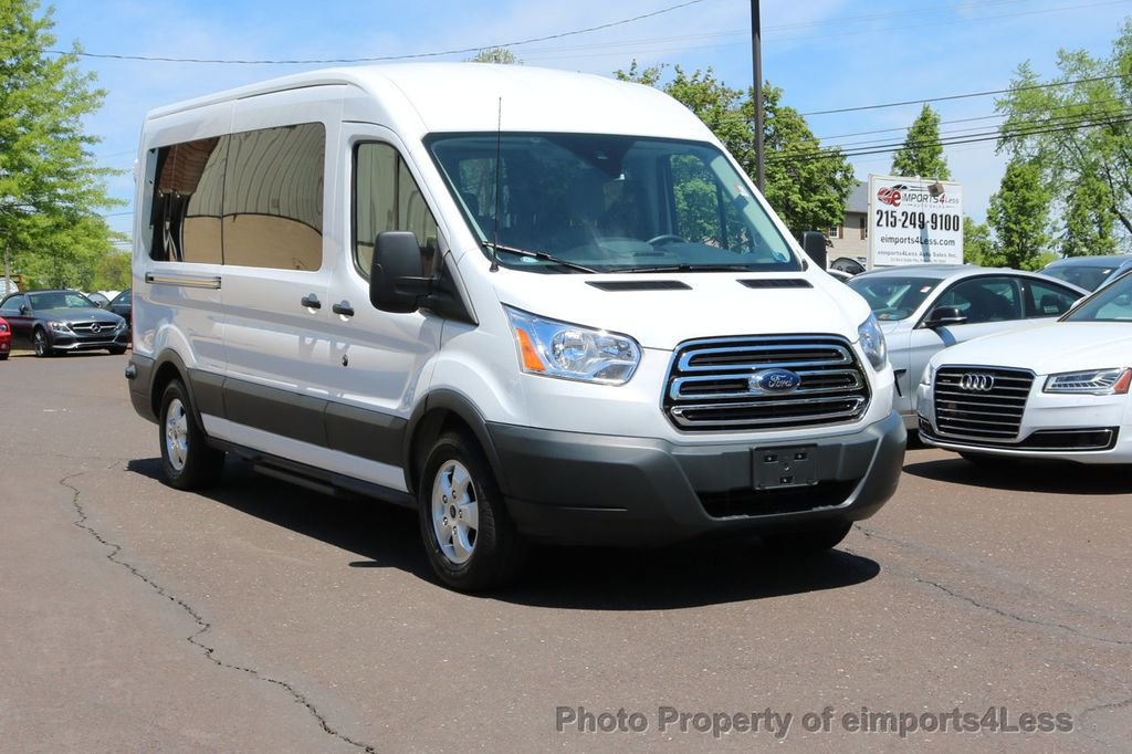 2017 Ford Transit 350 Wagon >> 2017 Used Ford Transit Wagon TRANSIT T350 MEDIUM ROOF 15 ...
