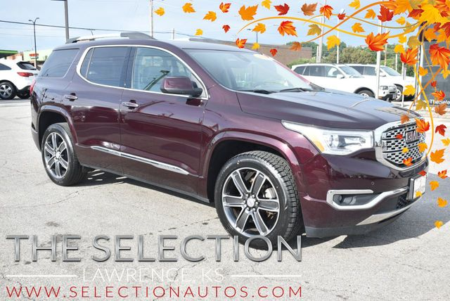 2017 Used Gmc Acadia Awd Denali At The Selection Serving Kansas City Topeka Ks Iid 20197386
