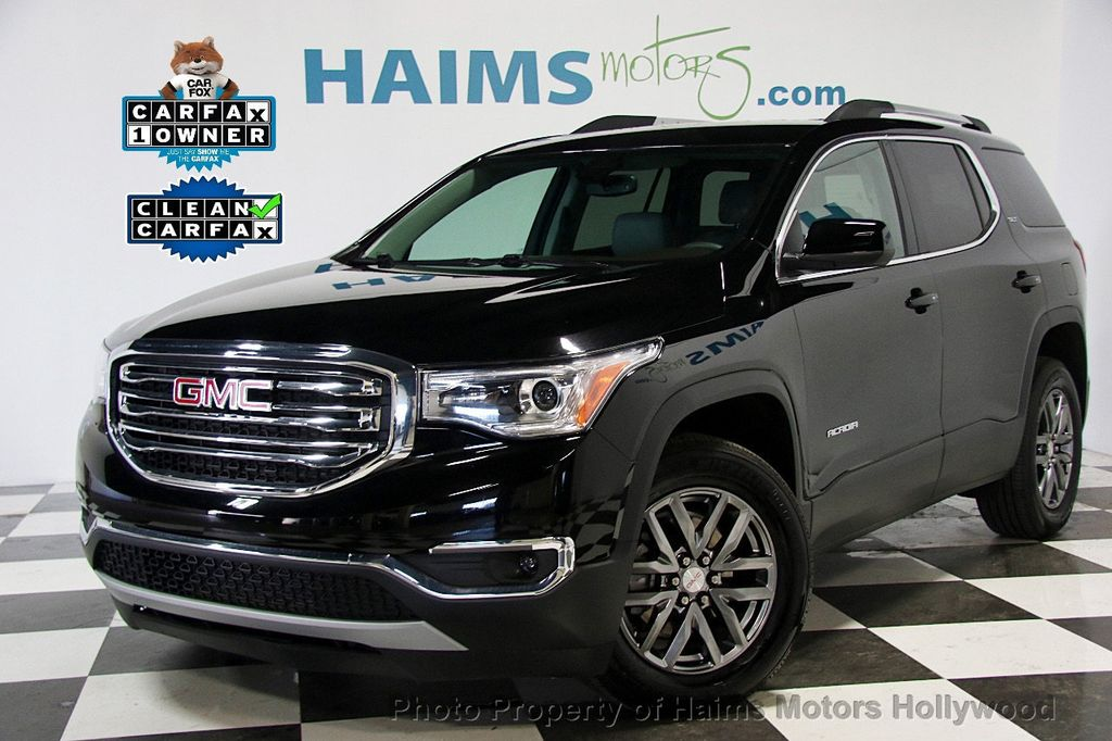 2017 Used Gmc Acadia Fwd 4dr Slt W Slt 1 At Haims Motors