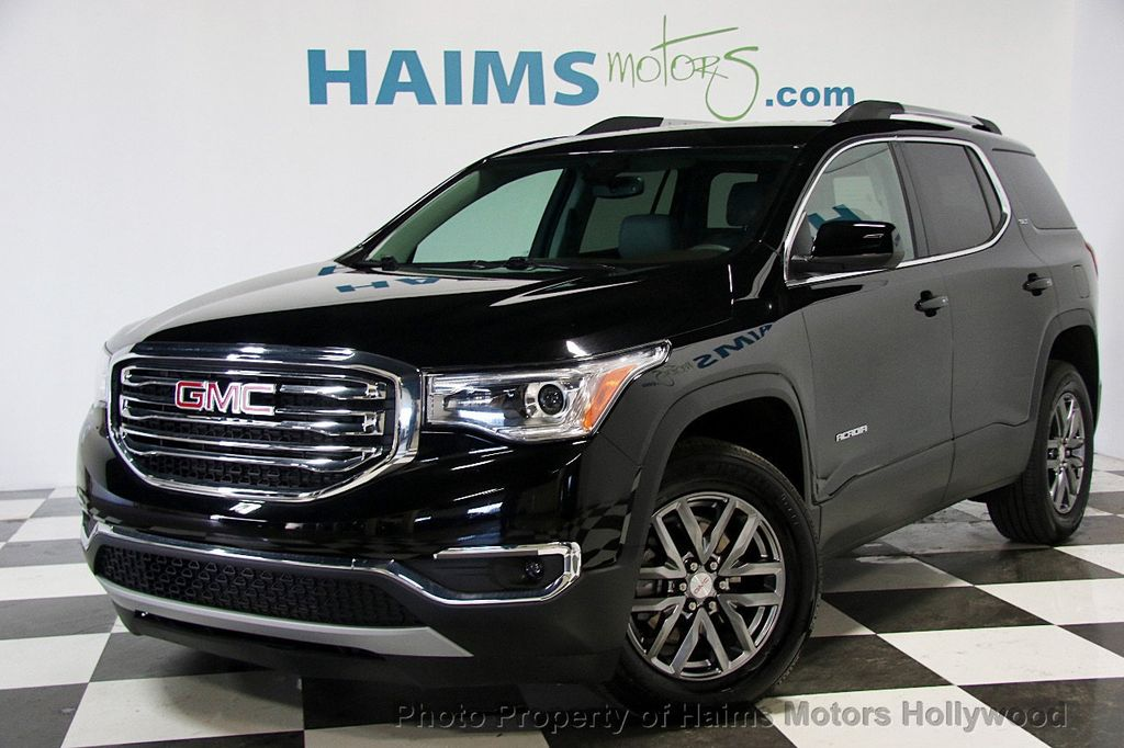 2017 used gmc acadia fwd 4dr slt w slt 1 at haims motors serving fort lauderdale hollywood. Black Bedroom Furniture Sets. Home Design Ideas