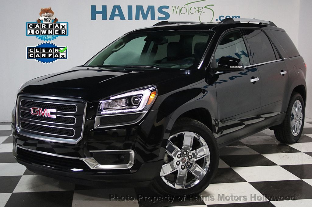 2017 used gmc acadia limited fwd 4dr limited at haims motors serving fort lauderdale hollywood. Black Bedroom Furniture Sets. Home Design Ideas