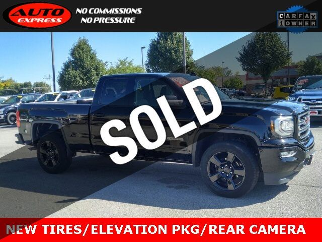 Gmc Elevation 2017 >> 2017 Used Gmc Sierra 1500 Elevation Pkg Double Cab 4x4 20 Black Premium Alloys At Auto Express Lafayette In Iid 19347977