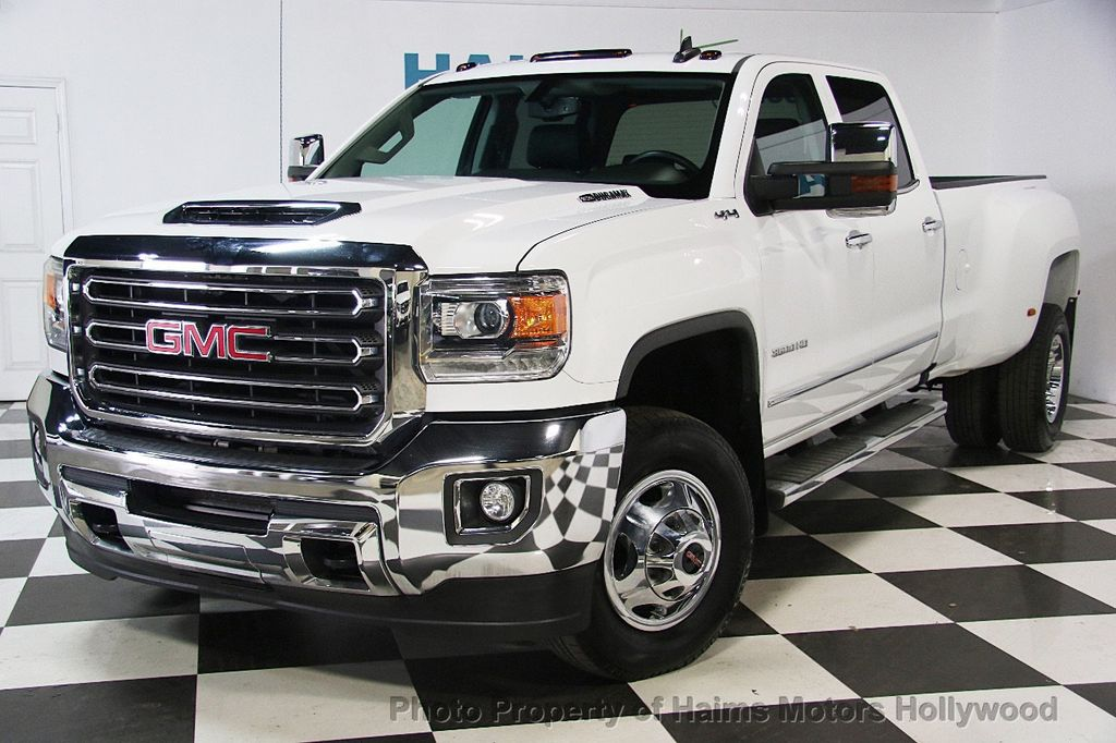 "2017 Used GMC Sierra 3500HD 2WD Crew Cab 167.7"" SLT at ..."