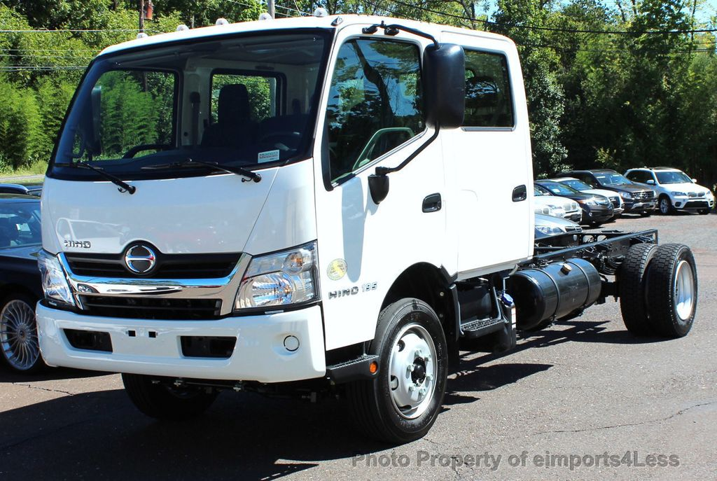 2017 Used HINO 195DC 195DC CREW CAB DIESEL AUTOMATIC at ...