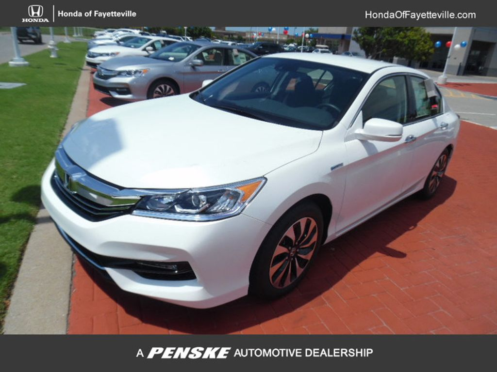 2017 used honda accord hybrid sedan at honda of fayetteville serving rogers springdale. Black Bedroom Furniture Sets. Home Design Ideas