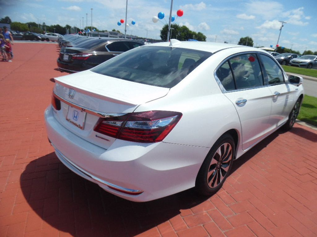 2017 used honda accord hybrid sedan at toyota of