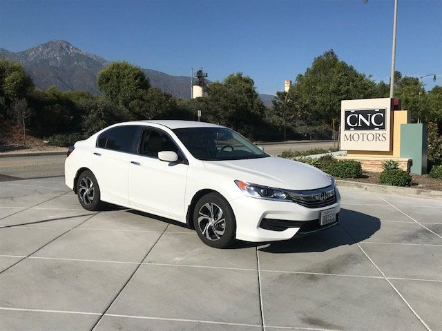 2017 Honda Accord White >> 2017 Used Honda Accord Sedan Lx Cvt At Cnc Motors Inc Serving Upland Ca Iid 19214994