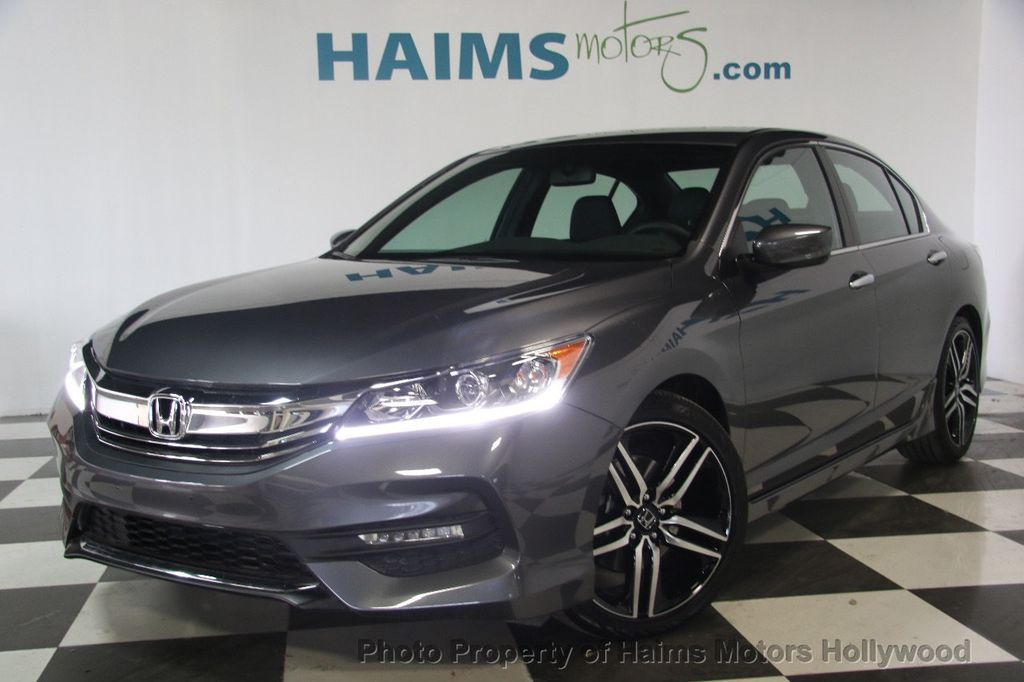 2017 Used Honda Accord Sedan Sport CVT at Haims Motors ...