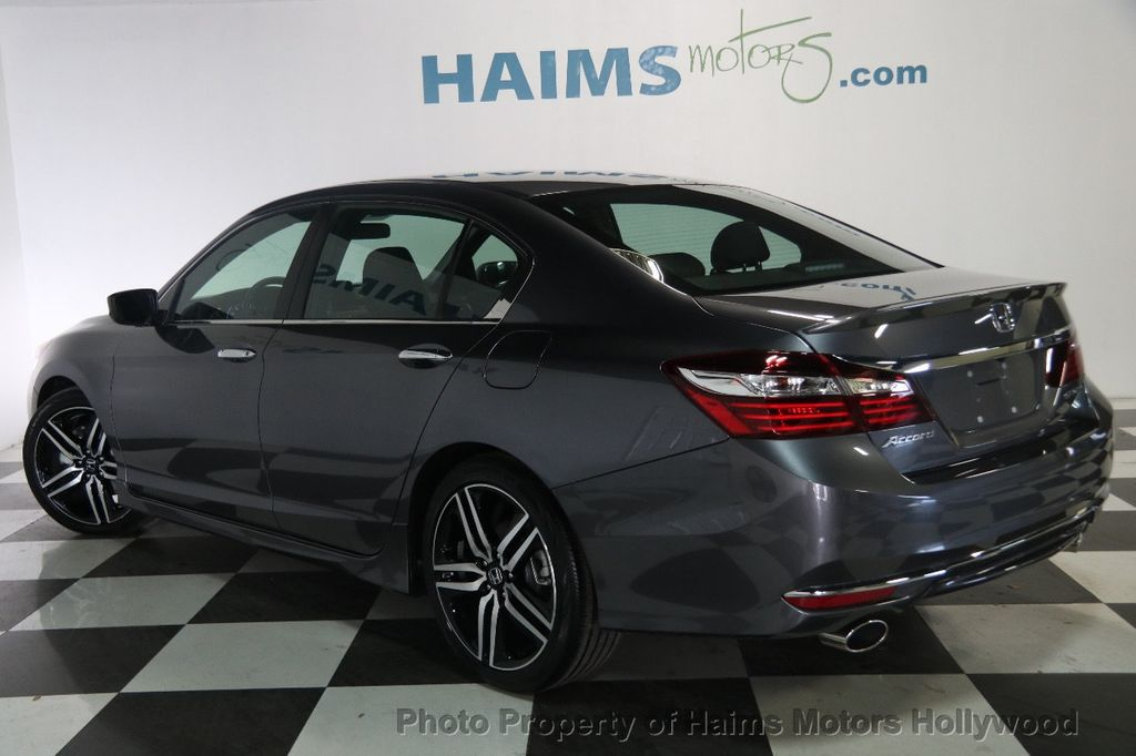 2017 used honda accord sedan sport cvt at haims motors ft for 2017 honda accord warranty