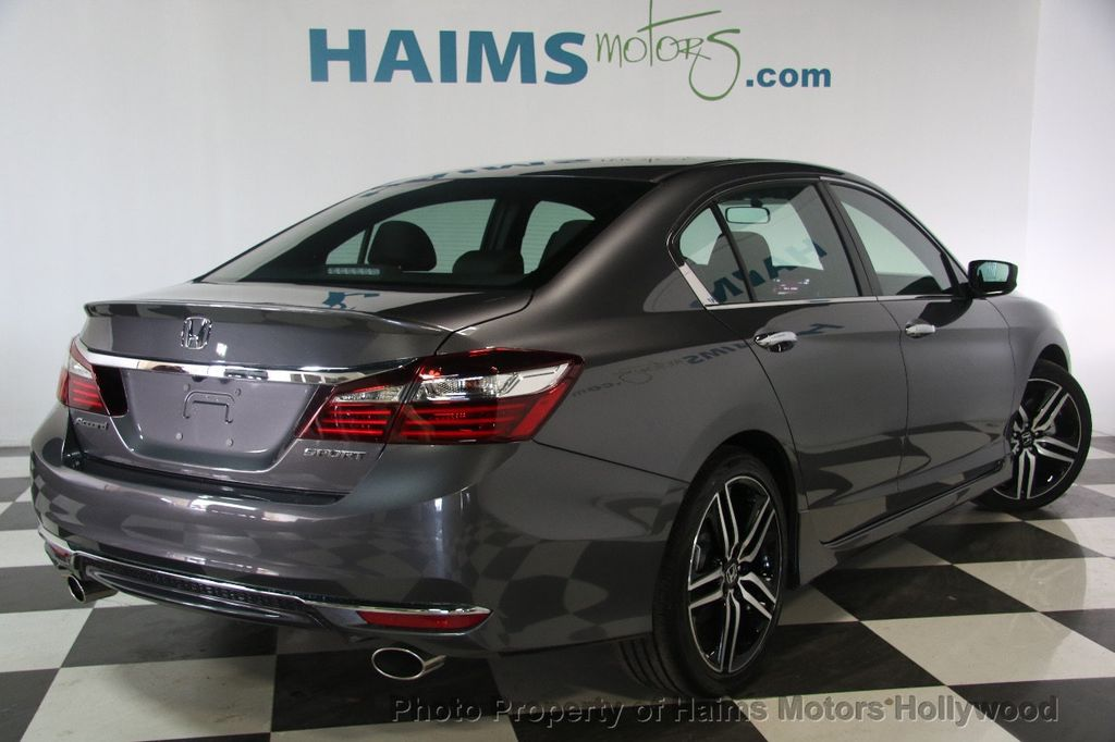 2017 used honda accord sedan sport cvt at haims motors ft. Black Bedroom Furniture Sets. Home Design Ideas