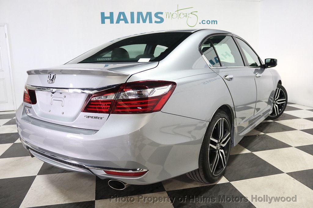 Honda Dealer Miami >> 2017 Used Honda Accord Sedan Sport CVT at Haims Motors ...