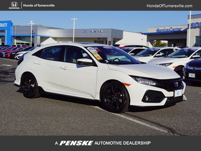 2017 Honda Civic Hatchback Sport Touring CVT Sedan