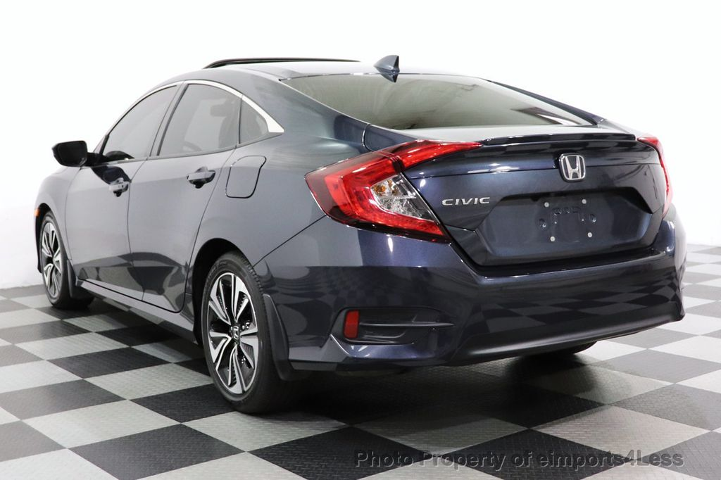2017 Honda Civic Sedan CERTIFIED CIVIC EXL CAMERA KEYLESSGO LED HEADLIGHTS - 18467688 - 2